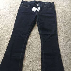 WHBM SKINNY FLARE JEANS SIZE 16